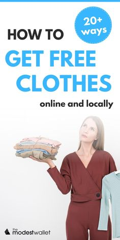 Have you been searching for the perfect freebie or hack to get free clothes online? These 20 legit ways to get free clothes are perfect for you! Whether you want to cash in on rewards, get free samples from major companies, or get free clothes on sites like Facebook and Craigslist, this list cover some of the best ways to save money and get free clothes. #frugaltips #moneysavingtips Best Money Saving Tips, Ways To Save Money, Saving Money, Free Clothes Online, Get Free Samples, Frugal Tips, Free Stuff, New Outfits, Searching