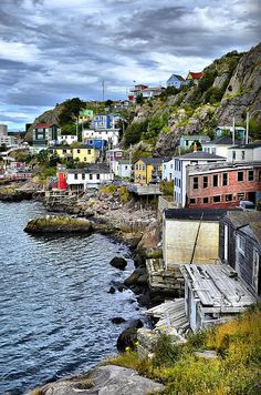 This is sooo Charming!  Newfoundland...  I really want to take my husband to see Newfoundland.