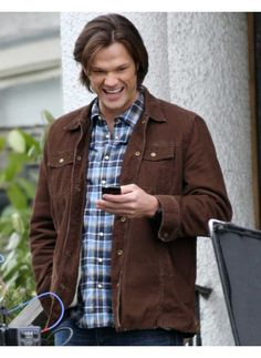 Stylish Sam Winchester Supernatural Jacket Season 11 for sale at discounted…