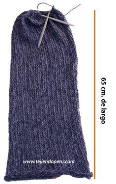 Cómo tejer una bufanda magica tubular (magic scarf) con agujas de tejer  circulares 1830d465ec9