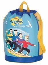 ~ Wiggles - DRAWSTRING BACKPACK / SWIM BAG (Surfing)