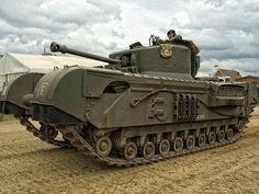 Churchill heavy tank