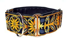 Hey, I found this really awesome Etsy listing at https://www.etsy.com/listing/175045672/martingale-collar-navy-and-yellow