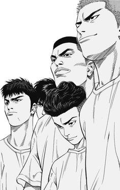 New Ideas Basket Ball Cartoon Slam Dunk Manga Art, Anime Manga, Anime Guys, Anime Art, Slam Dunk Manga, Manga Pages, Love Illustration, Animes Wallpapers, Anime Comics