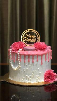 Cake Wallpaper, Cake Decorating Techniques, Coffee Cake, Cake Designs, Chocolate Cake, Birthday Cake, Cake Ideas, Floral, Desserts