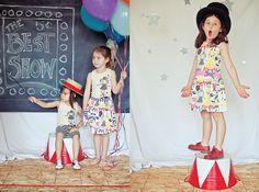 Circus shoot. Clothes by Misha Lulu #kids #photo #photography #idea #ideas