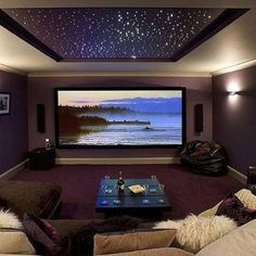 It's Friday Night Let's Netflix And Chill... Who Wants A Netflix And Chill Room In Their House ? #hometheater #nvr2lte2lve #share #l4l #luxuryliving #millionaire
