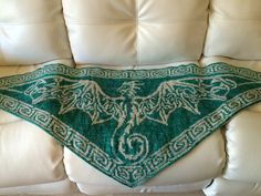 Ravelry: Celtic Sky Dragon by Tania Richter