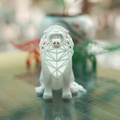 Roaring Lion Sculpture 3D Printing 82493-D PrintingMore Pins Like This At FOSTERGINGER @ Pinterest