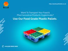 Available in different sizes, these food grade pallets are resistant to moisture, weak acids, alkalis and can be washed repeatedly through manual or automated process. They are designed to be contaminant and dust free. Information About Plastic, Plastic Pallets, Pallet Crates, Food Industry, Food Grade, Manual, Free