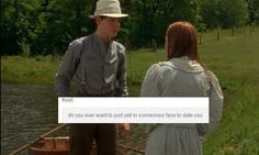 Someone Put Hilarious Tumblr Text To 'Anne Of Green Gables' And It's Perfect