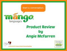 Learn a foreign language with the new Mango Homeschool Edition - Product Review H.O.P.E. Home School Consulting Blog http://hopehomeschoolconsulting.com/blog/mango-homeschool-edition-review/