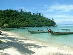Playa en la isla de Koh Samed