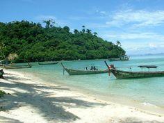 Playa en la isla de