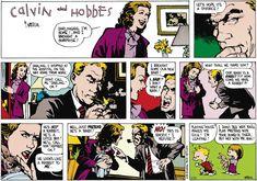 Calvin and Hobbes. I hope its a divorce! Calvin Und Hobbes, Calvin And Hobbes Comics, Divorce, Funny Jokes, Hilarious, Bd Comics, Humor Grafico, Look At You, Manga