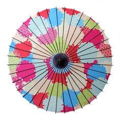 舞妓傘-雪輪(まいこがさ-ゆきわ)|和日傘(舞踏傘)なら北斎グラフィックwargo