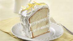 Gâteau mousseline à la crème citronnée - Fédération des producteurs d'oeufs du Québec