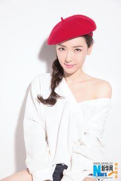 Chinese actress Ye Yiyun  http://www.chinaentertainmentnews.com/2016/01/young-and-pretty-actress-ye-yiyun.html