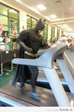 The Dark Knight Exercises!