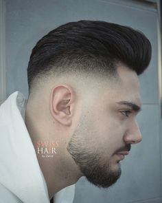 376 Likes, 3 Comments - Mens Hairstyles With Beard, Cool Hairstyles For Men, Hairstyles Haircuts, Haircuts For Men, Hair Men Style, Gents Hair Style, Men Hair Color, Haircut Fails, New Hair