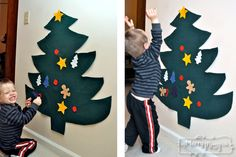 DIY Kids Felt Christmas Tree Craft