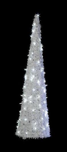 Vianočný stromček s LED diódami - 1400mm - OCTV-01-L