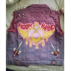 OKAY THIS PERSON DID THESE CUSTOM BADASS DENIM VESTS FOR VARIOUS FICTIONAL CHARACTERS AND IM JUST SAYING. X-MEN BIKER GIRLS. DENIM/LEATHER VESTS. BIG ASS PATCHES!!!! STUDS!!!! SPIKES!!!