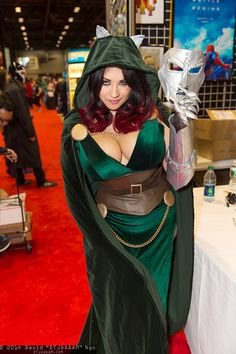 Dr. Doom by Ivy Doom Kitty. A fun and lovely woman.