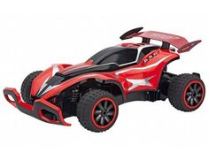 The Carrera RC Red Jumper 2 radio controlled off road buggy from the Carrera radio control range in 1/20 scale is a great off road vehicle offering lots of outdoor fun!