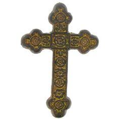 Rust Cast Iron Cross
