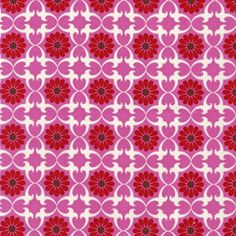 This Organic Purple Daisy Tile fabric would match up beautifully to the Organic Solid Bright Pink Cotton Fabric. This would make a gorgeous bedroom set for any little girl. $17.00 a Yard. http://warmbiscuit.com/organic-purple-daisy-tile-fabric.html