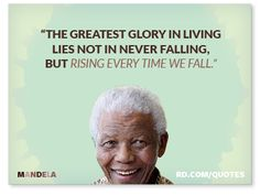 best dating nelson mandela quotes about life