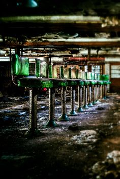 The Ghost Diner an image from the abandoned Grossingers resort in the Catskills
