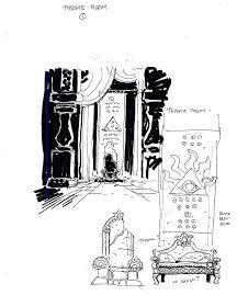 Mike Mignola's Concept art for Atlantis
