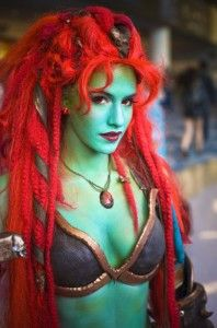 Female Troll WoW cosplay. OMG, I would marry her. Blizzcon 2011 ...