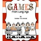 This freebie includes a colonial board game as well as 4 other game descriptions that are easily made for your students to experience how children stayed entertained long ago.