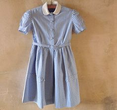 French 1950s School Girl Dress Size 6 to 7 by marybethhale on Etsy #VintageAndMain