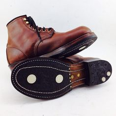 Redwing Beckman Boots Resole by Role Club