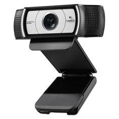 C930e Hd Webcam, 1080p, Black