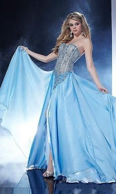 Homecoming Dresses#Blue dress | Ocean bule | Pinterest | Blue ...