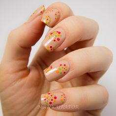 manicurator: Dior Vernis Cruise Collection 2013 Dotted Nail Art - Geometric Challenge Day 2