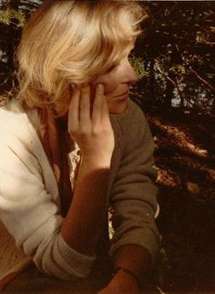 Virginia McKenna on location on Peel Island in 1973, when she played Mary Walker in The Theatre Projects film of SWALLOWS & AMAZONS (1974)