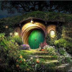 'Bag End' part 2/2 An image I have been working on from my recent trip to Hobbiton - Lord of the Rings movie set in Matamata New Zealand. This is a Day-to-Night composite which I have created.  I absolutely love being able to edit images the way I imagined them. I hope you like it! :) Info: A handheld 3 shot daytime panorama stitched together. If you want to see the before and after in photoshop in a 2 minute video I created click here - https://youtu.be/4rRKy2rCABE Its also up on my website…