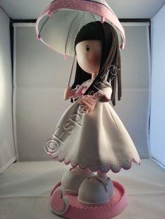 Fofuchas y otras manualidades: Muñeca tipo gorjuss