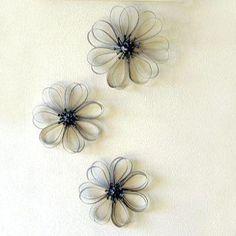 sculptured flowers