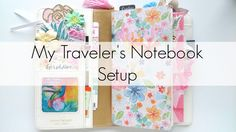 After sharing how to make a vision board for your traveler's notebook, I have made a video of my setup. I'm currently using the Webster's pages TN. However, I will be starting ano…