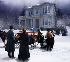 "Everything in the world: ""Victorian Christmas"" and pictures of Mark Keathley"