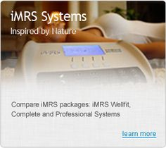 Compare iMRS packages: iMRS Wellfit, Complete and Professional Systems