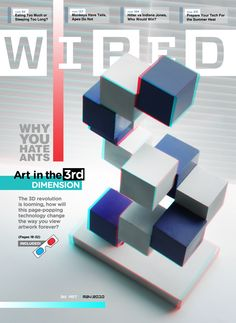 I like the 3D look to the page. This is something that isn't very common so it caught my eye.