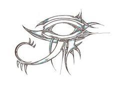 eye of ra.simple and tribal eye of Ra Anubis Tattoo, Bast Tattoo, Eye Of Ra Tattoo, Horus Tattoo, Sketch Tattoo Design, Tattoo Sketches, Art Drawings Sketches, Tattoo Drawings, Tattoo Ink